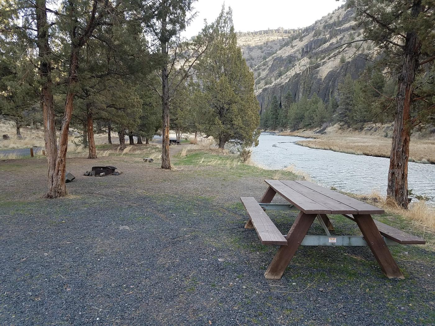 Campsite at  Palisades Campground