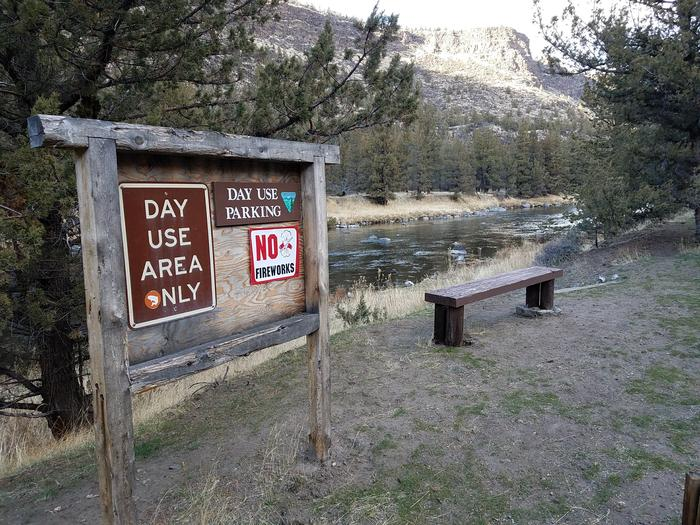 Crooked River Access at Greenwood Day-Use Area