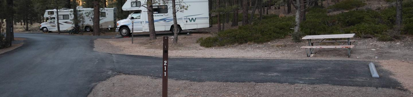 Sunset Campground Site 211Site 211