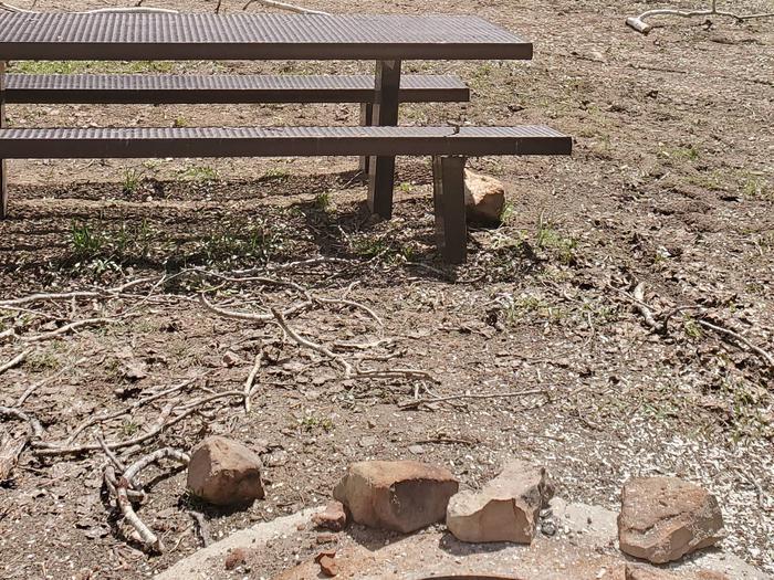 Miller Flat Reservoir Campground Site 3