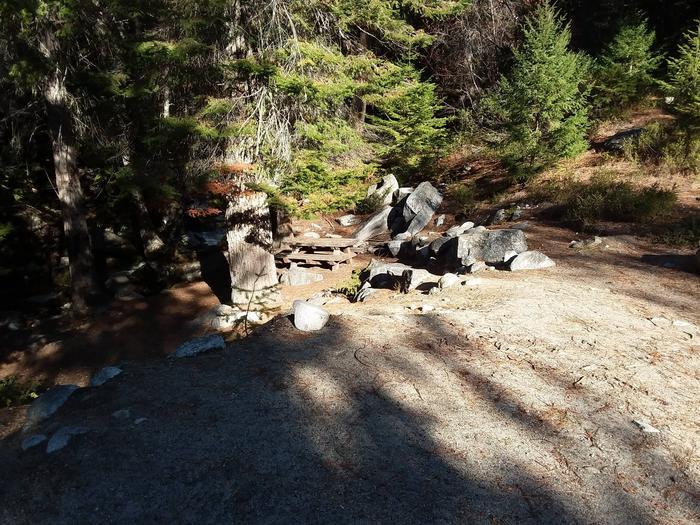 Lake Creek.Site 1 at Lake Creek.