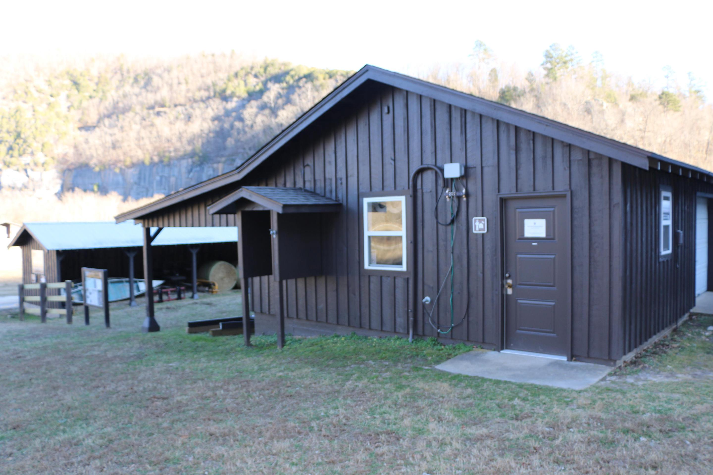 Steel Creek Ranger StationVisitors to the Upper District can stop by the Steel Creek Ranger Station for information.