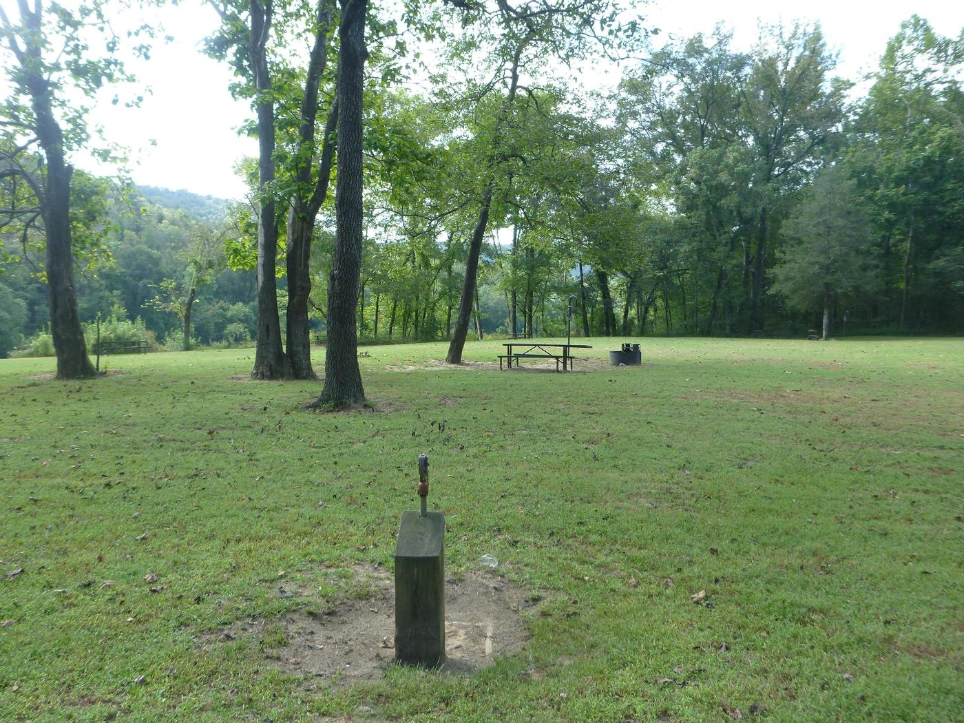 Tent Camping at Rush CampgroundRush Campground offers primitive tent camp experiences.