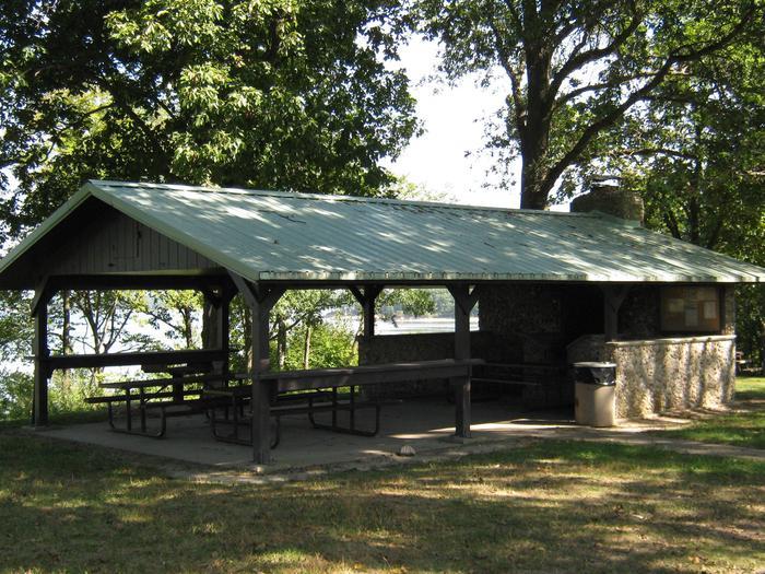 Dam East Picnic Shelter