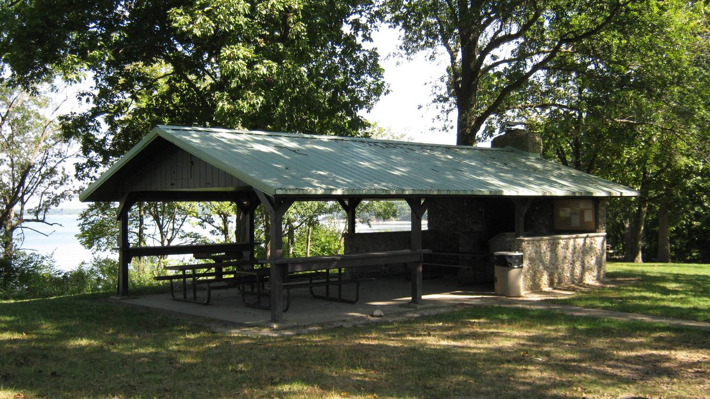 Dam East Picnic Shelter Pic 3