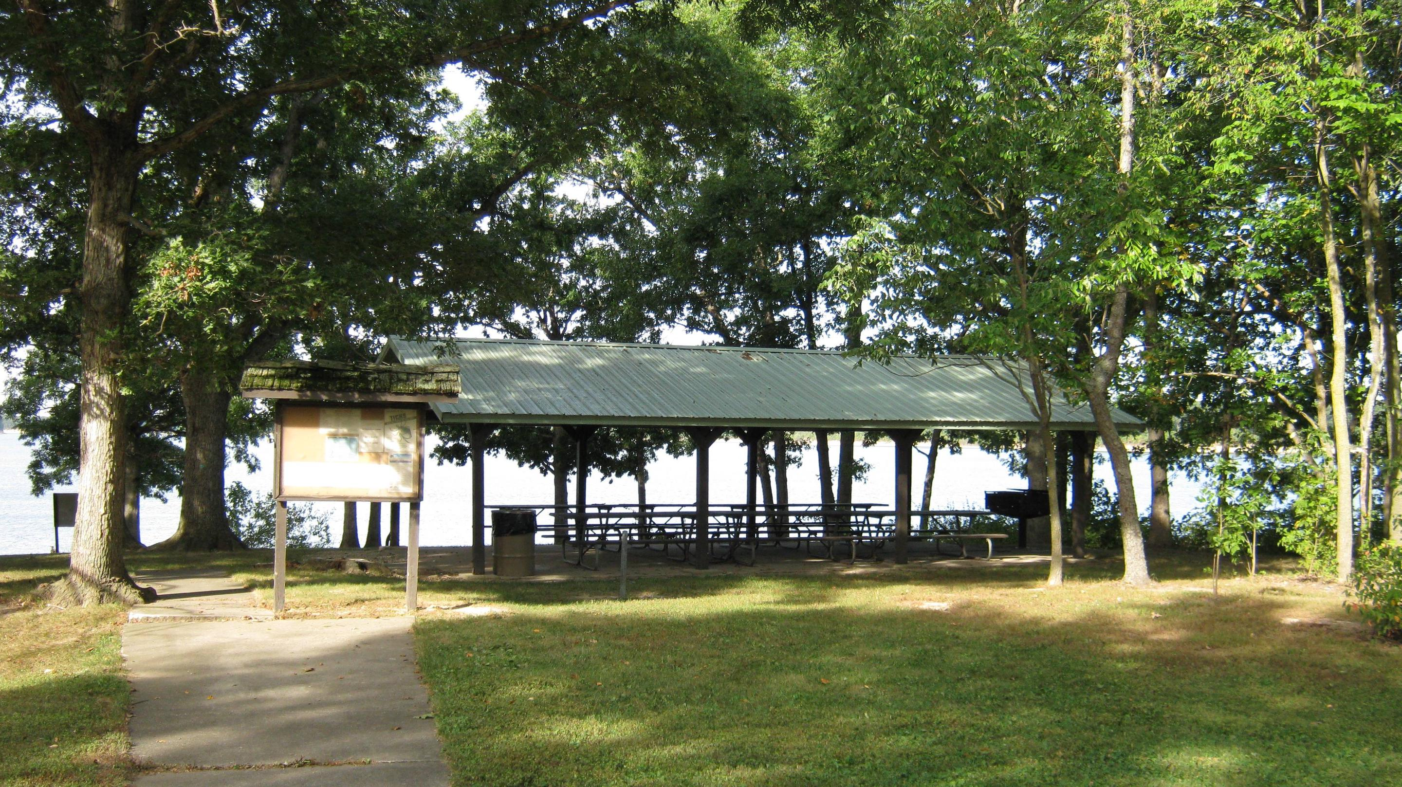 Picnic Shelter from Road