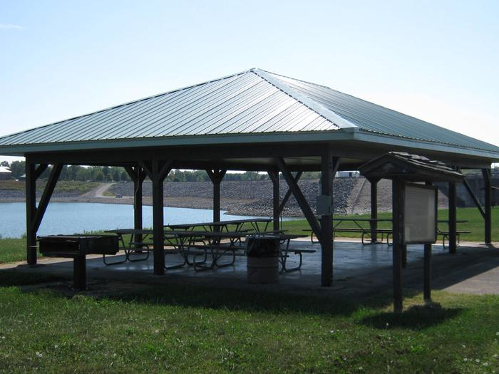 Preview photo of Dam West Overlook Picnic Shelter
