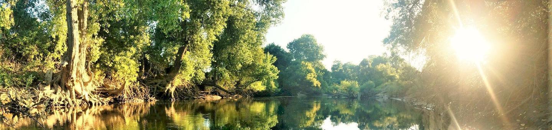 Stanislaus River SunsetStanislaus River Sunset at McHenry Avenue Recreation Area