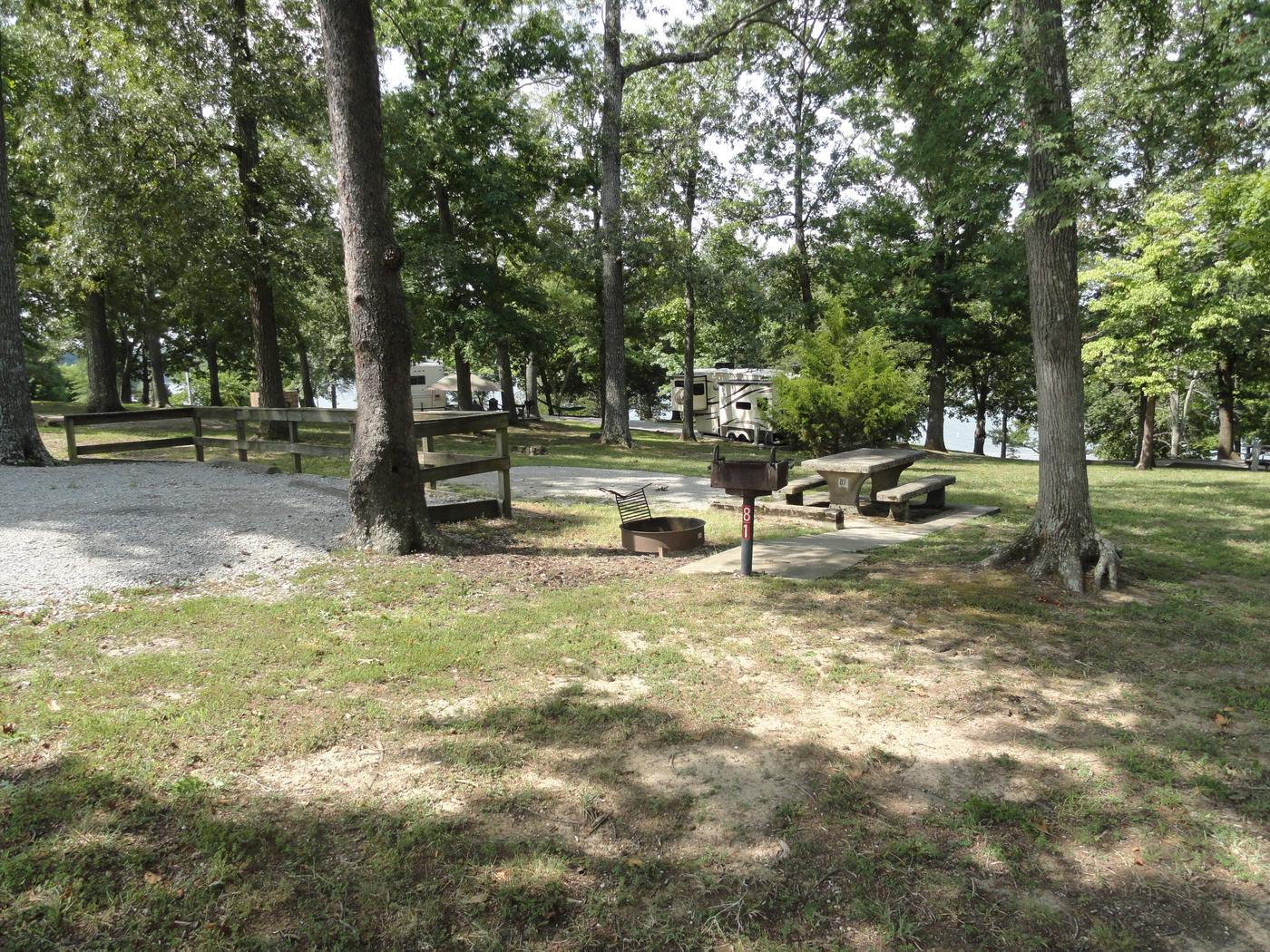 WILLOW GROVE CAMPGROUND SITE #81