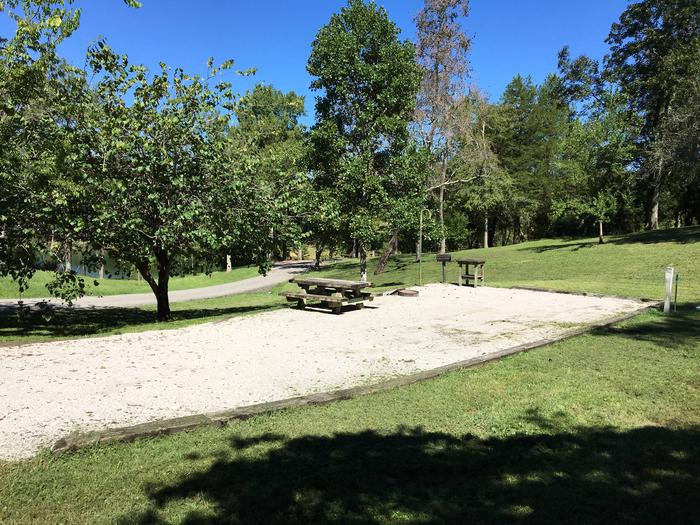 WILLOW GROVE CAMPGROUND SITE #16 VIEW FROM NEIGHBOR SITEWILLOW GROVE CAMPGROUND SITE #16