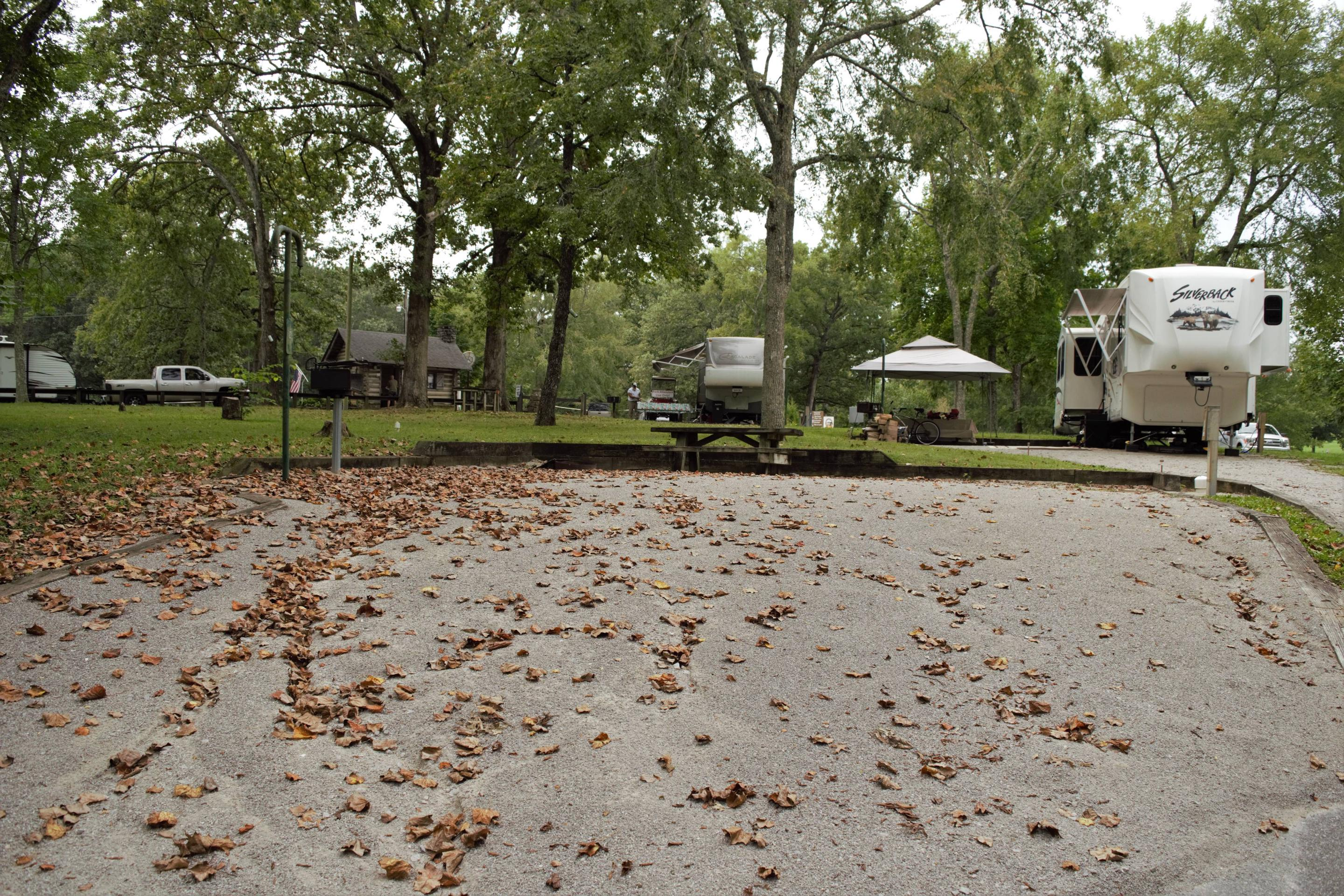 WILLOW GROVE CAMPGROUND SITE # 5