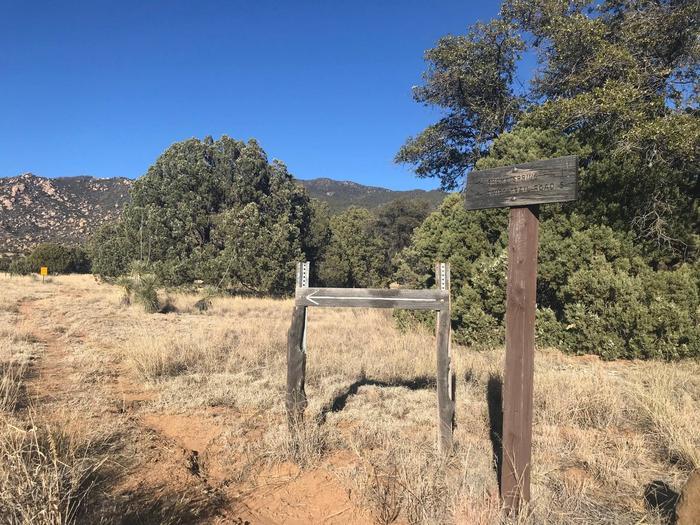 Shake Trail #309 Stockton Pass Trailhead