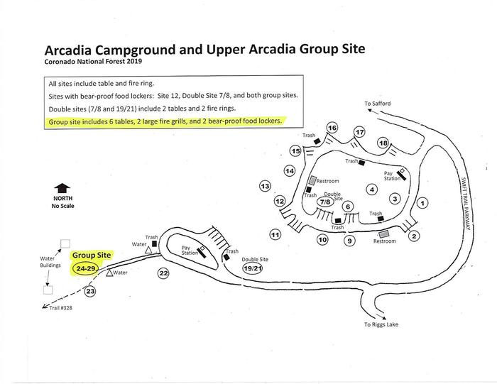 Upper Arcadia Group Site Map Upper Arcadia Group site Map