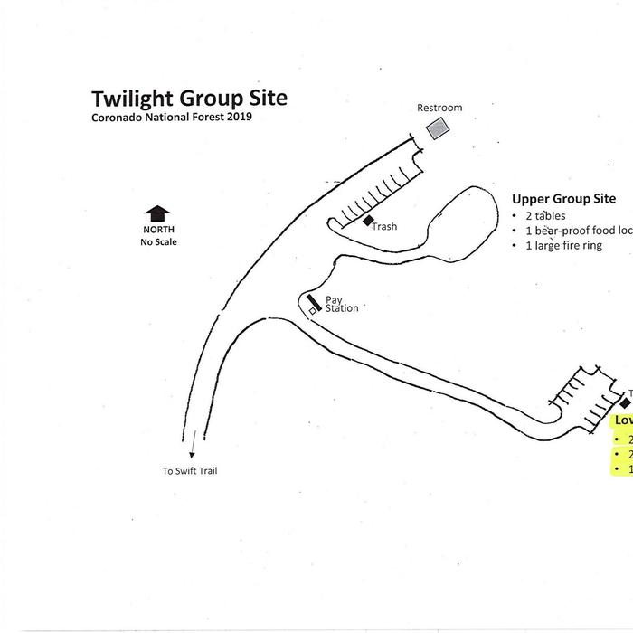 Lower Twilight Group Site Map
