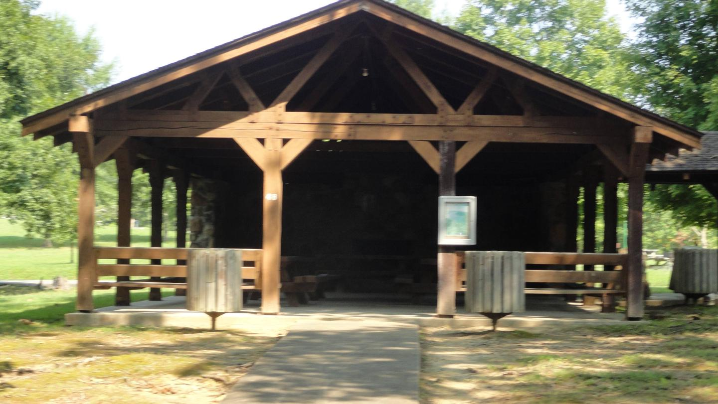 WILLOW GROVE PICNIC SHELTER MID VIEWWILLOW GROVE PICNIC SHELTER
