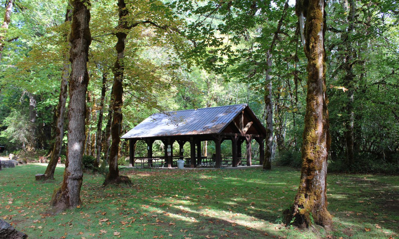 Rock Creek Recreation Site Pavilion