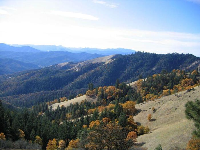 View from the Jack-Ash Trail, from Anderson Butte looking westerly.