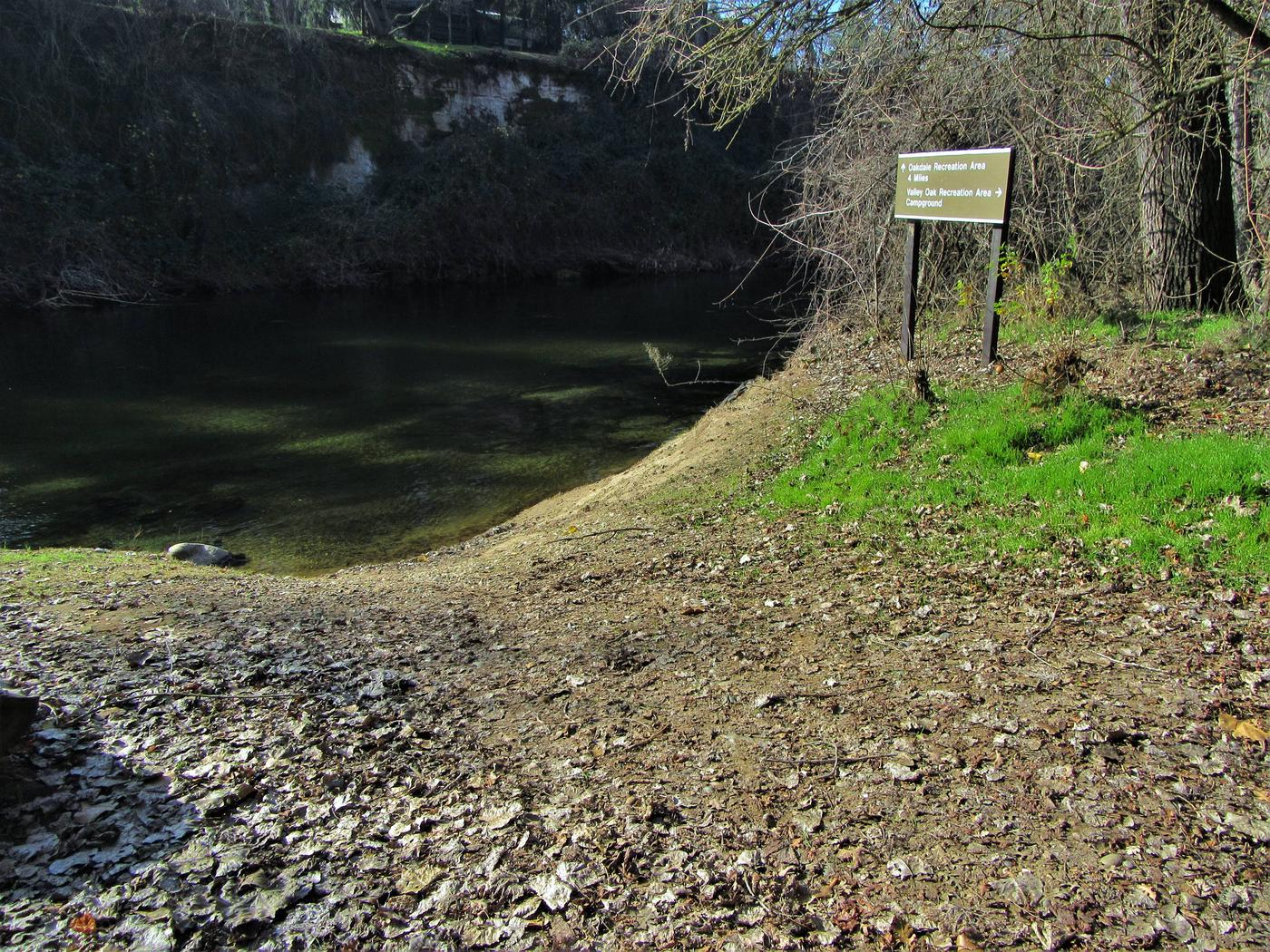 Valley Oak Recreation Area LaunchBoat launch conveniently located next to the Valley Oak Campground
