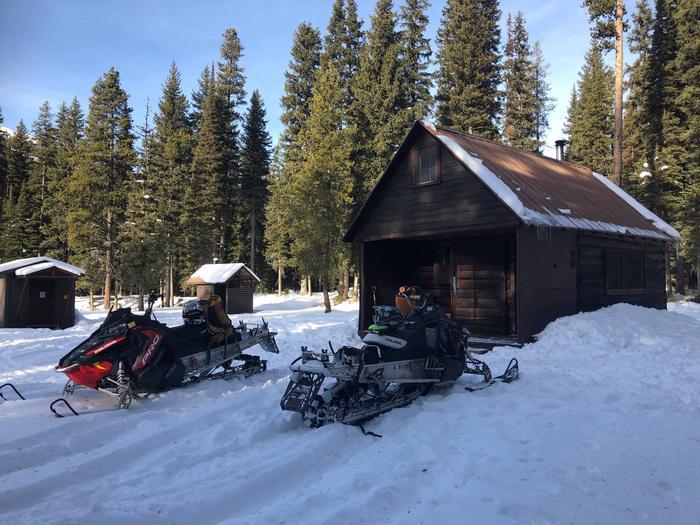 Challenge Cabin exteriorChallenge in December