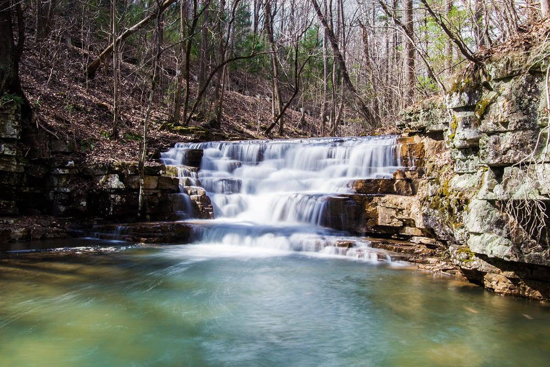 Falls Fenwick Falls on Mill Creek