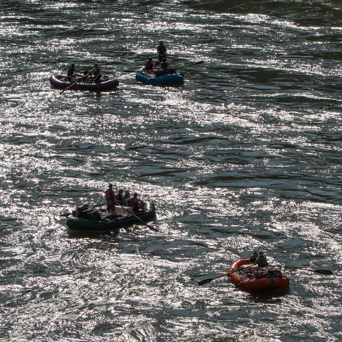 Rafters on the Rogue River