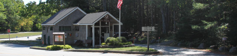 Blackwoods Campground Ranger Station