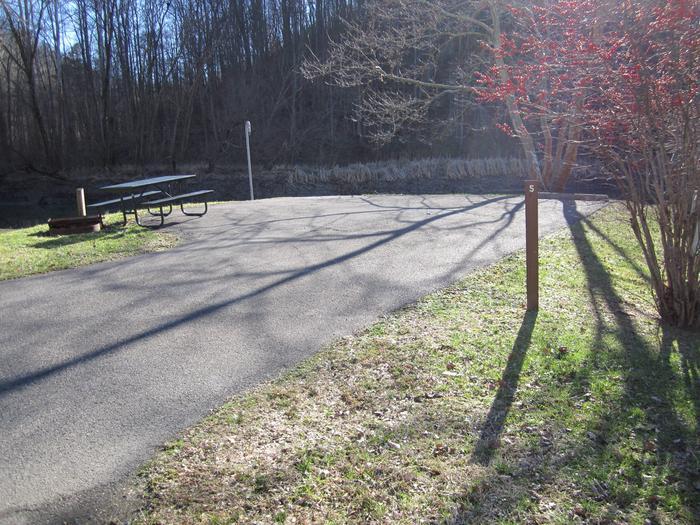 Lakefront SiteArea 1, Site 5