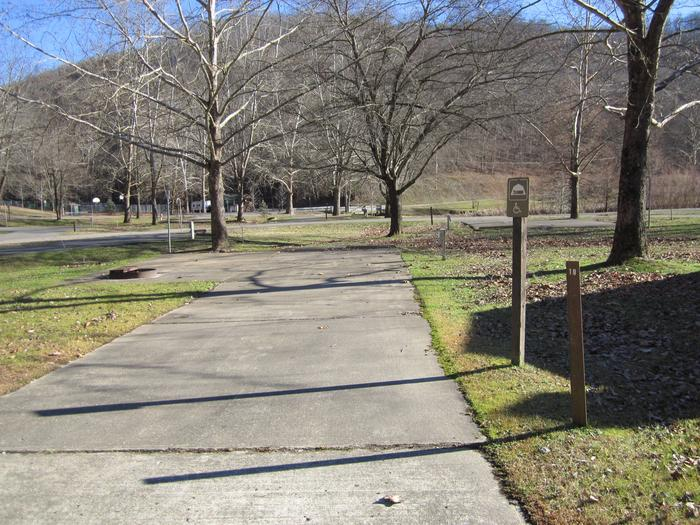 Non Lakefront Site Handicap AccessibleArea 1 Site 19