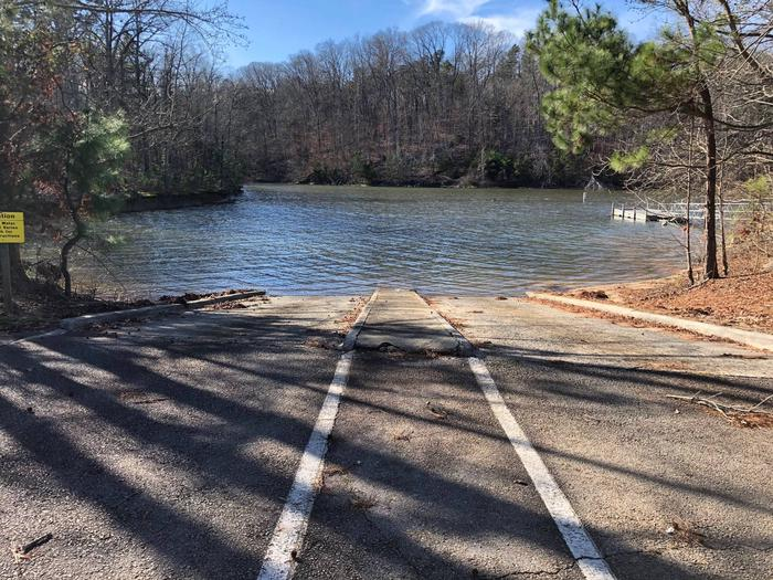 DOUBLE LANE BOAT RAMP INSIDE PAYNES CREEK CAMPGROUND