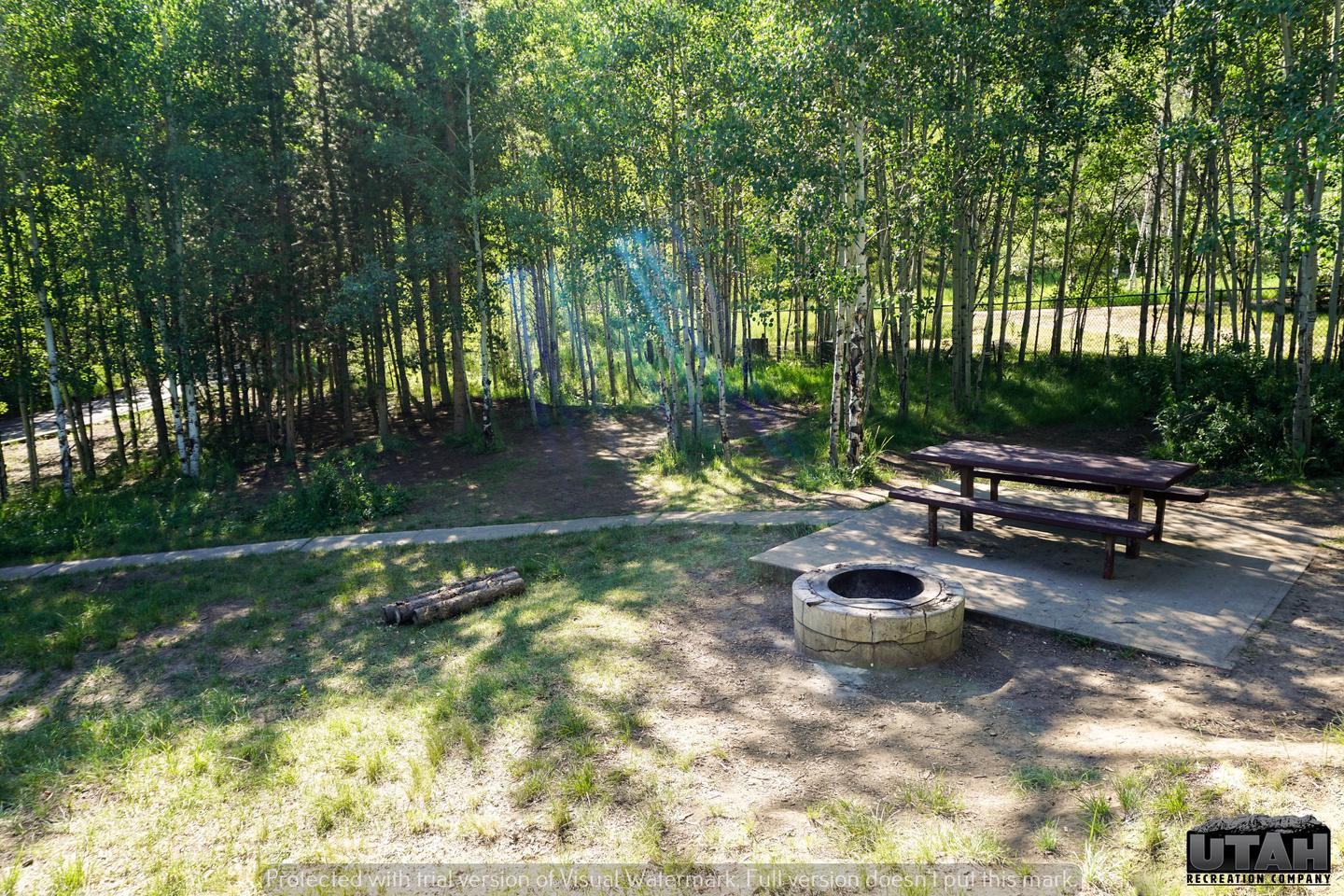 Aspen Grove Campground A - 014