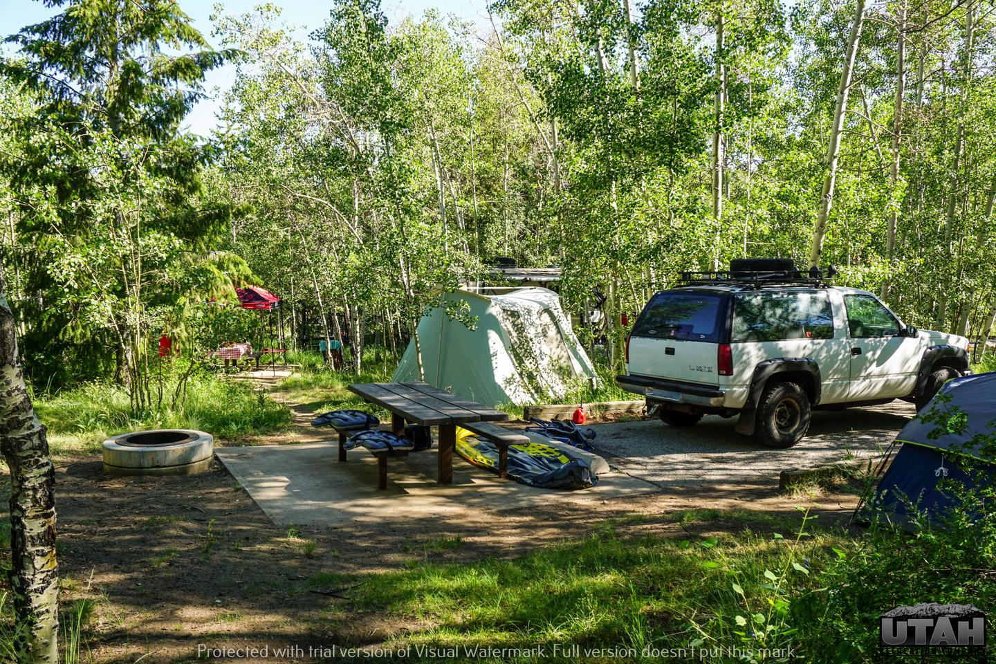 Aspen Grove Campground A - 015