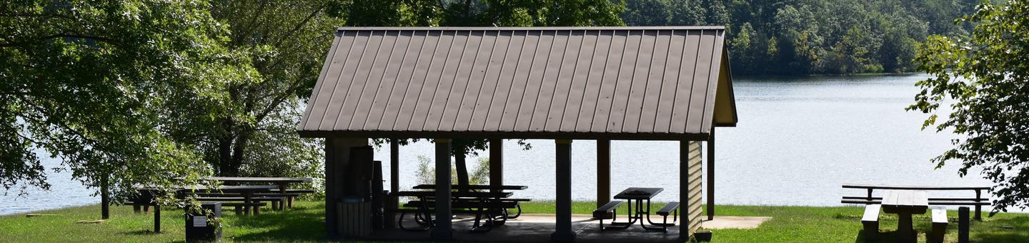 Group Shelter At Council Bluff BeachGroup Shelter