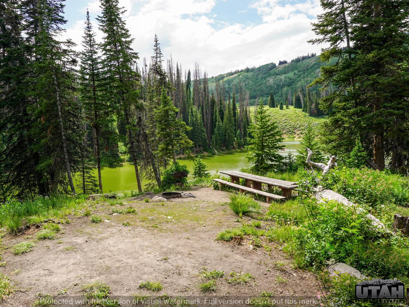 Mill Hollow Campground A - 005