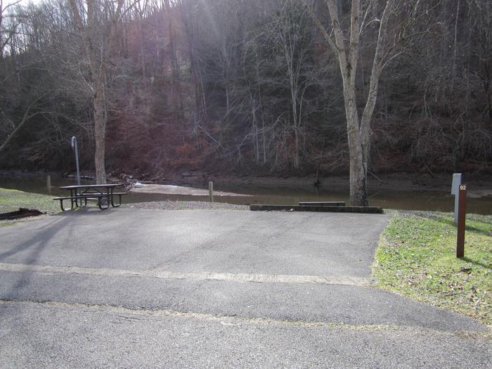 Lakefront SiteArea 4 Site 92