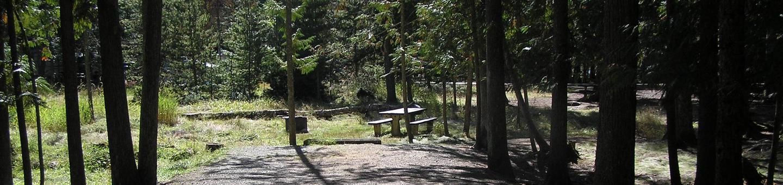 Sam Owen Campground Site 8