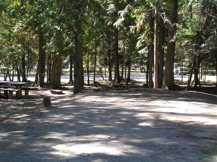 Sam Owen Campground Site 20