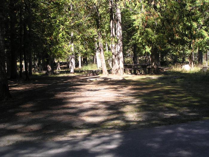 Sam Owen Campground Site 22