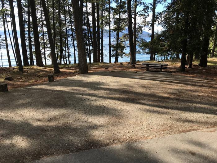 Sam Owen Campground Site 33