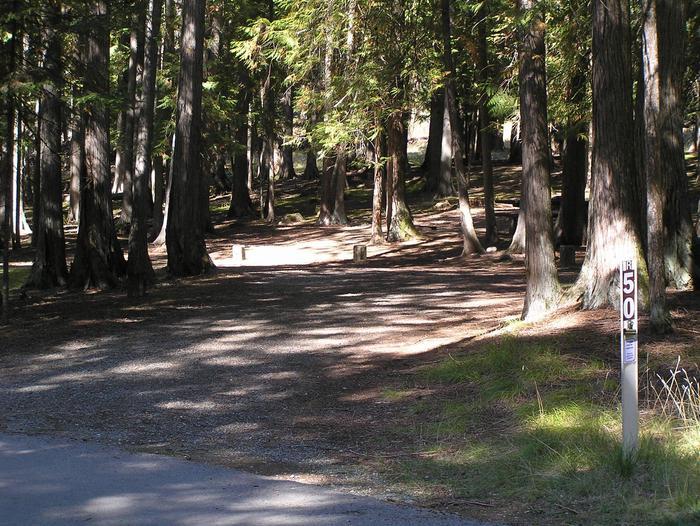 Sam Owen Campground Site 50