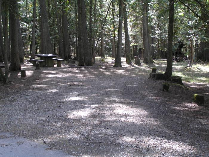 Sam Owen Campground Site 52