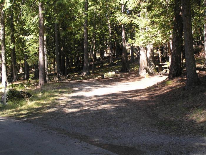 Sam Owen Campground Site 53