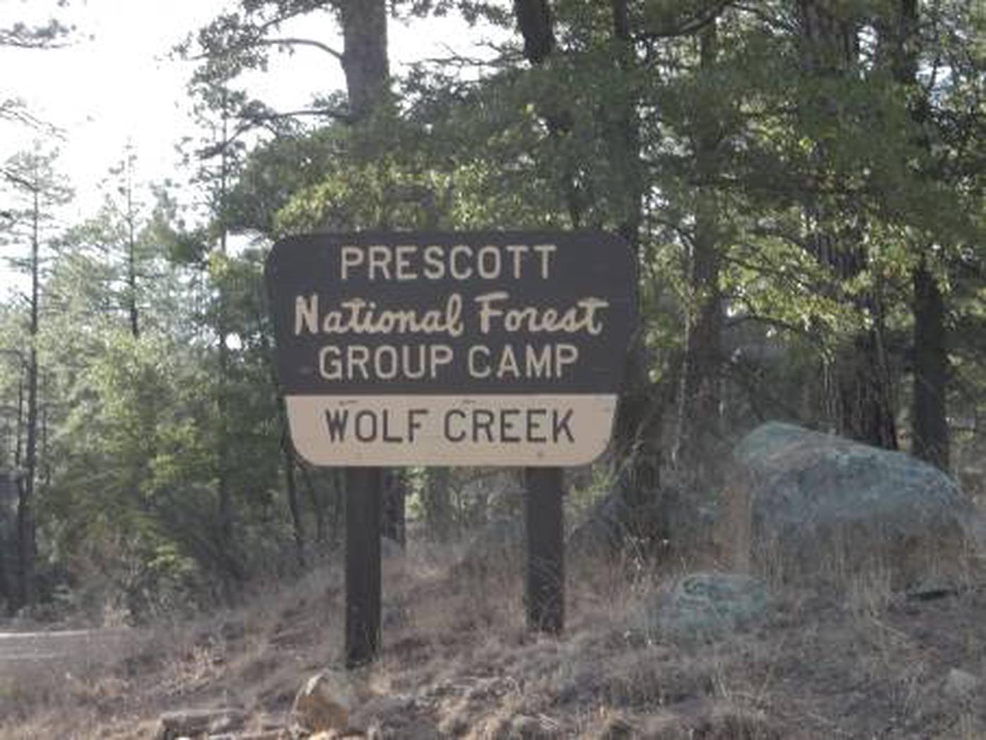 UPPER WOLF CREEK GROUP- SITE ENTRANCEUPPER WOLF CREEK GROUP-SITE ENTRANCE
