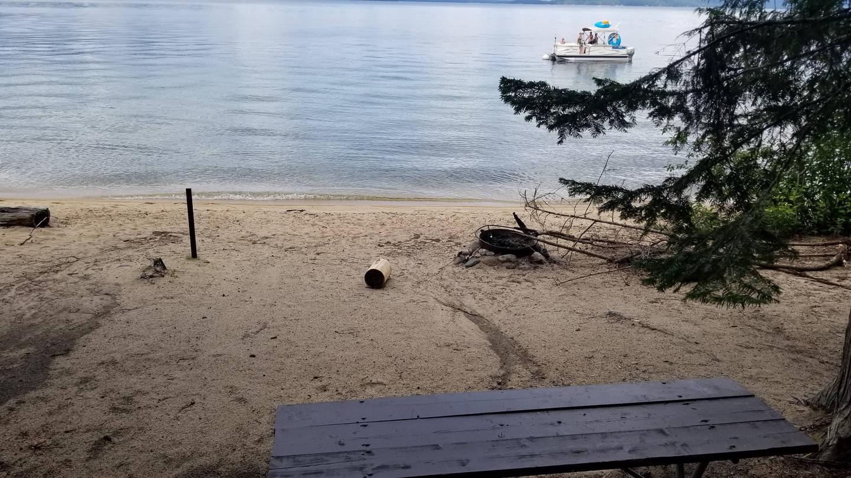 North Bartoo Site #2North Bartoo Boat-in Campsite #2