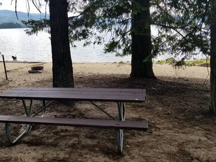 South Bartoo Site #12South Bartoo Boat-in Campsite #12