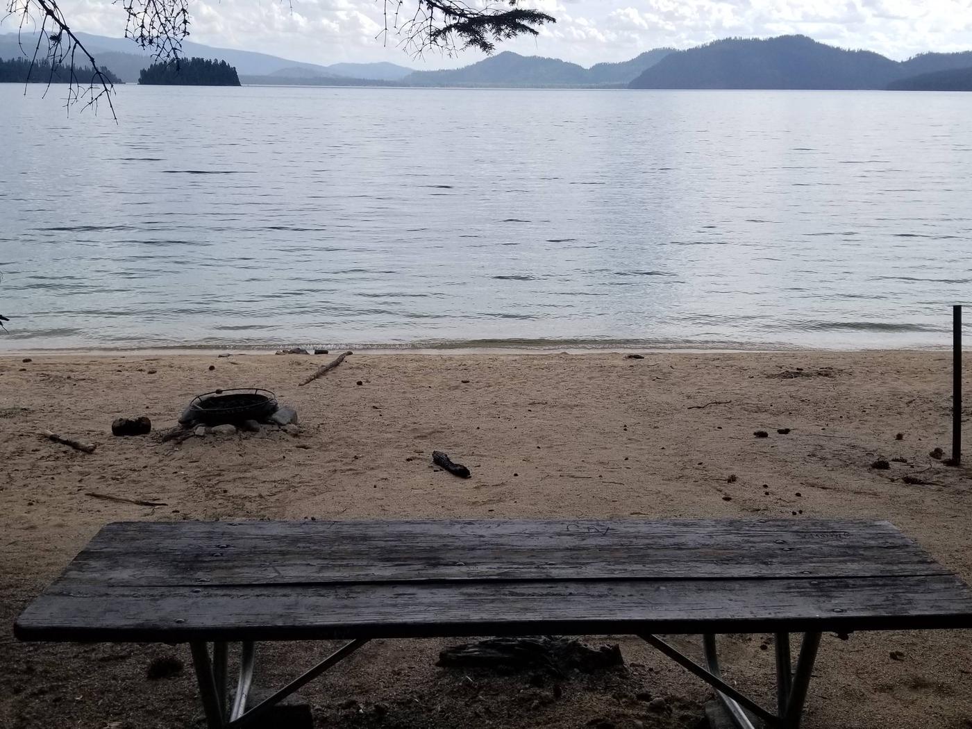 Sunshine Site #18Sunshine Boat-in Campsite #18