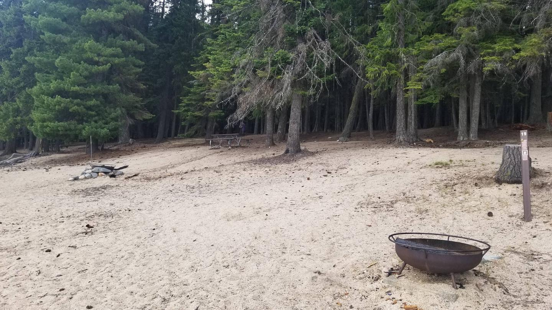 Sushine Site #18Sunshine Boat-in Campsite #18 (Forest View)
