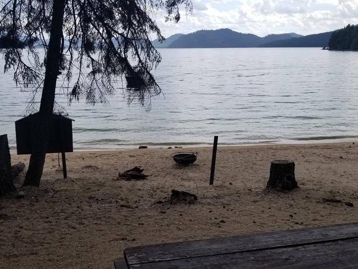 Sunshine Site #19Sunshine Boat-in Campsite #19