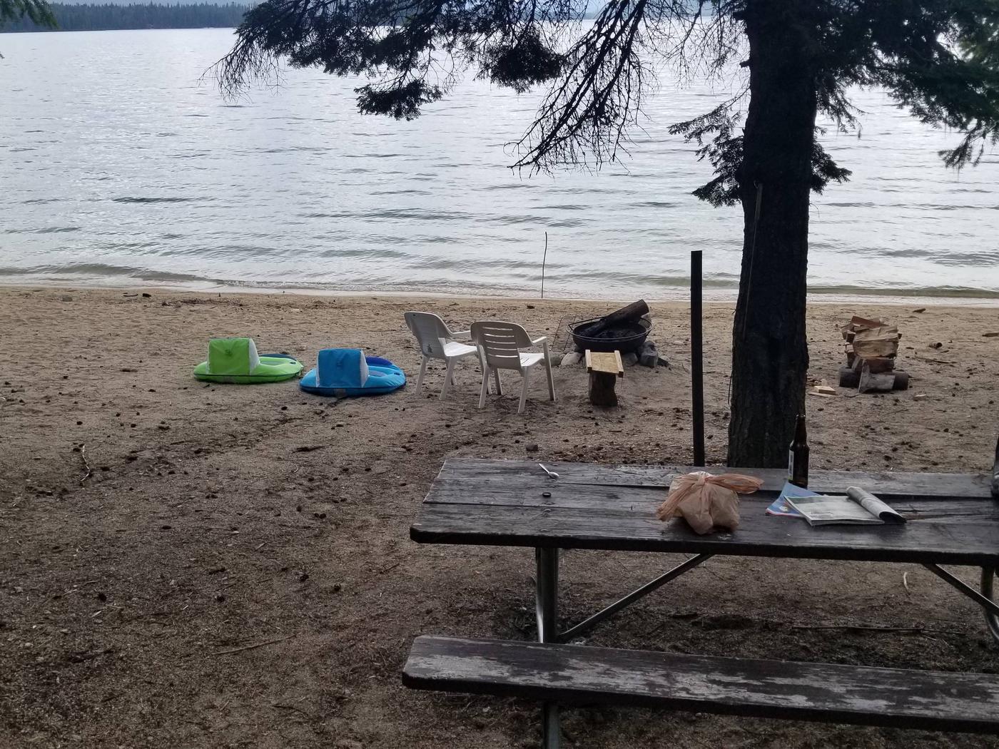 Sunshine Site #20Sunshine Boat-in Campsite #20