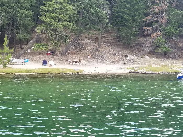 Bartoo Solo Site #25Bartoo Solo Boat-in Site #25
