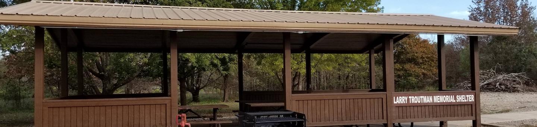 Card Creek ShelterLarry Troutman Memorial Shelter